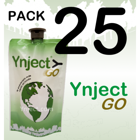 pack 25 ynject go