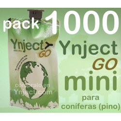 Pack 1000 Ynject Go mini (pino)