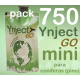Pack 750 Ynject Go mini (pino)