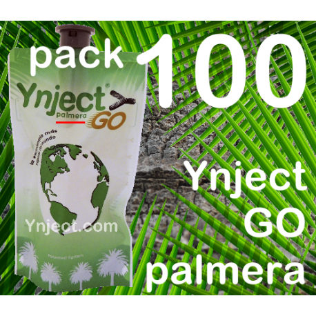 Pack 100 Ynject Go (palmeras)