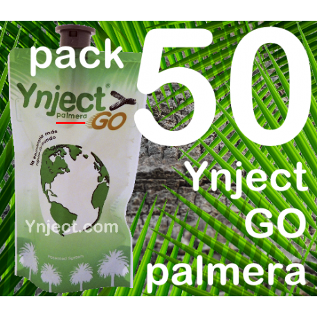 Pack 50 Ynject Go (palmeras)