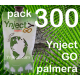 Pack 300 Ynject Go (palmeras)