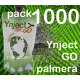 Pack 1000 Ynject Go (palmeras)