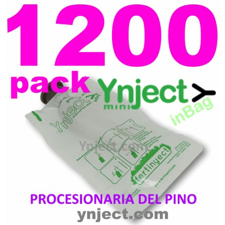 YNJECT Mini InBag pack 1200 procesionaria del pino