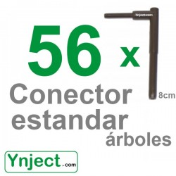 Conector standard (8cm) pack 56
