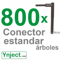Conector standard (8cm) pack 800