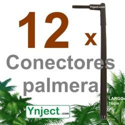 Conector palmera (16 cm) pack 12