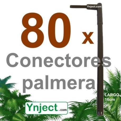 Conector palmera (16 cm) pack 80