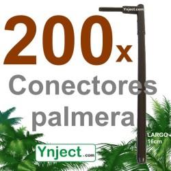 Conector palmera (16cm) pack 200