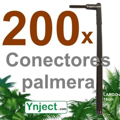Conector palmera (16 cm) pack 200