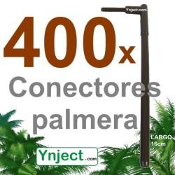 Conector palmera (16 cm) pack 400