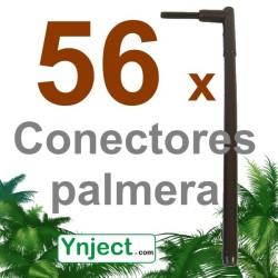 Conector palmera (16 cm) pack 56