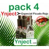 Pack 4 Picudo Rojo