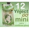 Pack 12 Ynject Go mini (pino)