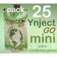 Pack 25 Ynject Go mini (pino)
