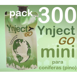 Pack 300 Ynject Go mini (pino)