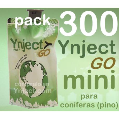 Pack 300 Ynject Go mini (pino)