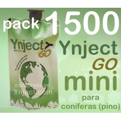 Pack 1500 Ynject Go mini (pino)