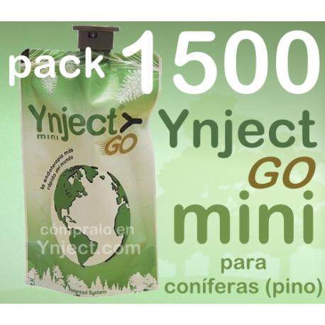 Pack 1500 Ynject Go mini (pino)