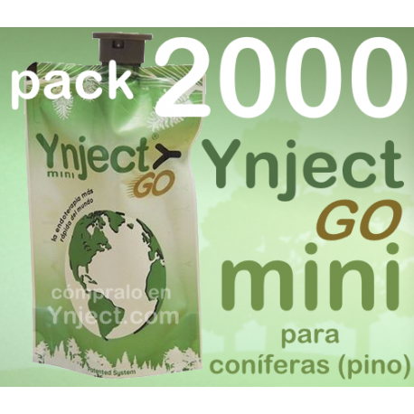 Pack 2000 Ynject Go mini (pino)