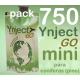 Pack 750 Ynject Go mini (pino)