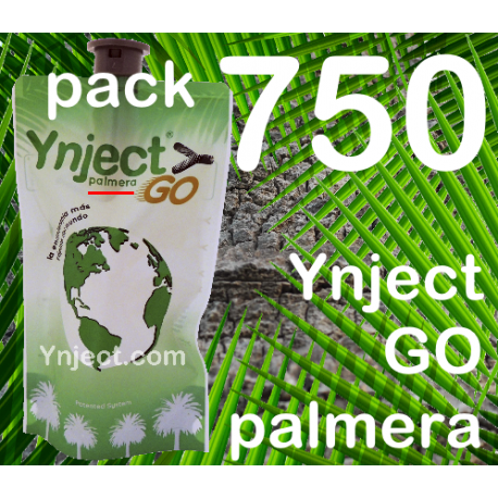 Pack 750 Ynject Go (palmeras)