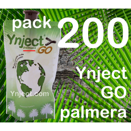 Pack 200 Ynject Go (palmeras)