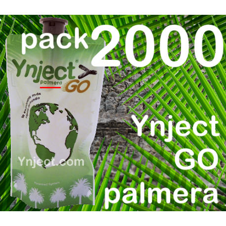 Pack 2000 Ynject Go (palmeras)