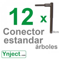 Conector standard (8cm) pack 12