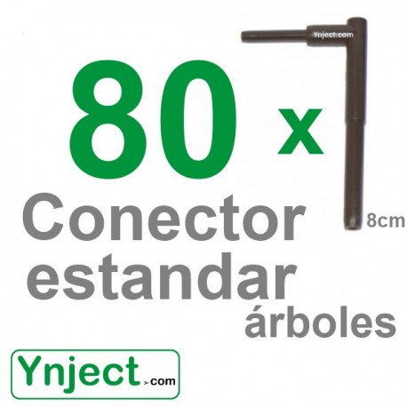 Conector standard (8cm) pack 80