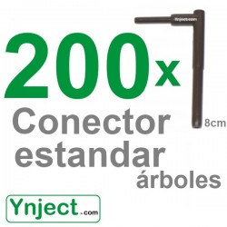 Conector standard (8cm) pack 200