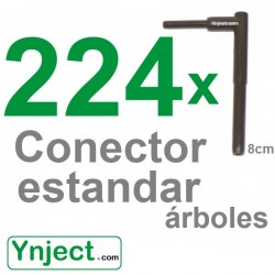 Conector standard (8cm) pack 224